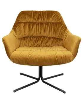 Вращающееся кресло Bristol Yellow