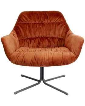 Вращающееся кресло Bristol Rust Red