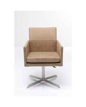 Вращающееся кресло New York Beige