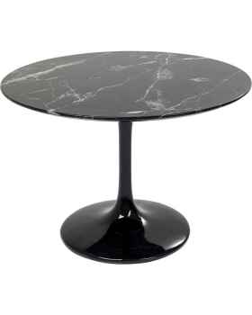 Стол Solo Marble Black Ø110cm