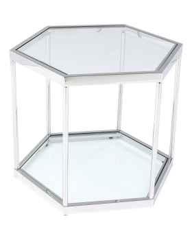 Кофейный столик Comb Silver 45cm