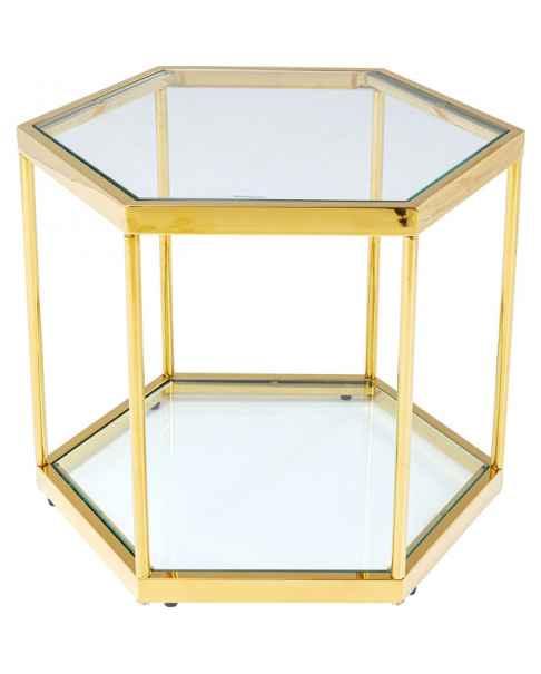 Кофейный столик Comb Gold 45cm
