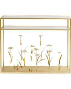 Консольный столик Flower Meadow Gold 100cm