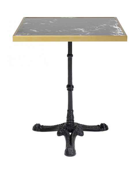 Барный столик Kaffeehaus Rim Square Schwarz 57x57cm