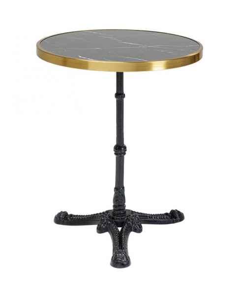 Барный столик Kaffeehaus Rim Round Schwarz Ø57cm