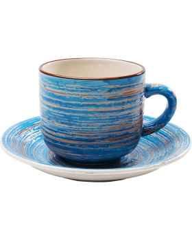 Кофейный набор Swirl Blue (2/Set)