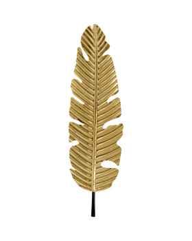 Настенный декор Leaf Gold 92cm