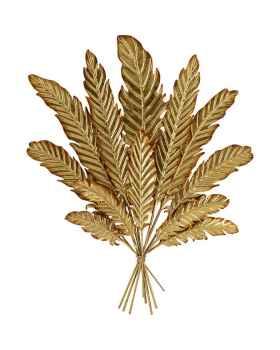 Настенный декор Leaf Bouquet Gold