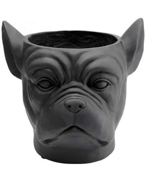 Цветочный горшок Bulldog Black