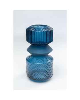 Подсвечник Marvelous Duo Blue 36cm