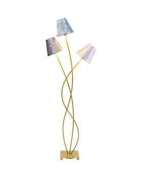 Торшер Flexible Velvet Brass Tre