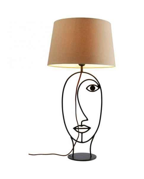 Настольная лампа Face Wire Nature