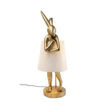 Настольная лампа Animal Rabbit Gold 88cm