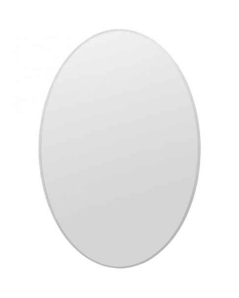 Настенное зеркало Jetset Oval Silver 94x64cm