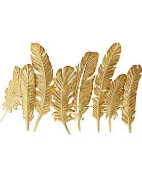 Вешалка для одежды Leaf Gold 86cm
