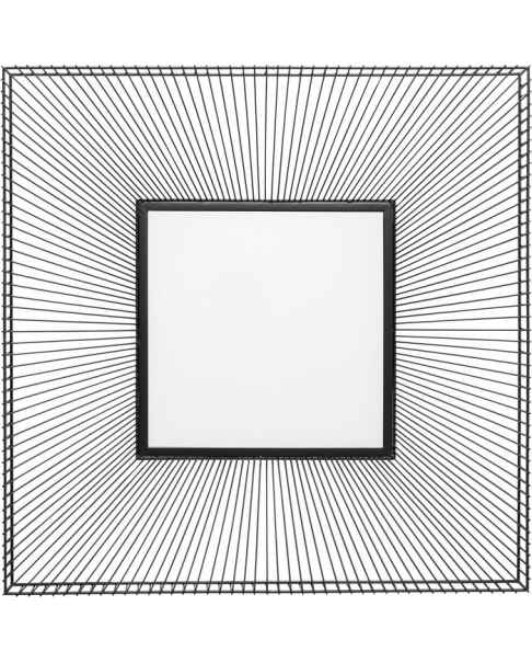 Настенное зеркало Dimension Square 91x91cm