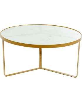 Приставной столик Marble Gold Ø55cm