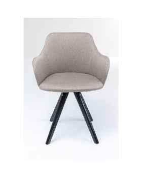 Вращающееся кресло Lady Loco Taupe