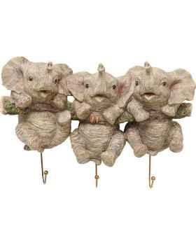 Вешалка для одежды Three Mini Elephants