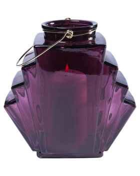 Подсвечник Noble Wire Purple 12cm