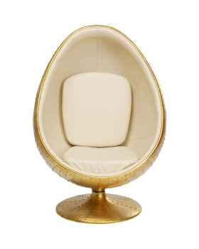 Вращающееся кресло Eye Ball Brass