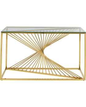 Консольный столик Laser Gold 120x40