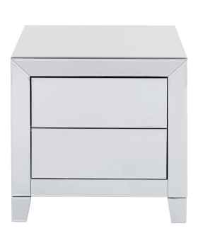 Тумба Luxury Push 2 Drawers Grey