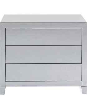 Комод Luxury Push 3 Drawers Grey