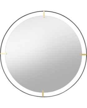 Настенное зеркало Betsy Frame Metal 90Ø