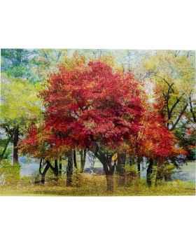 Картина на стекле Autumn 160x120