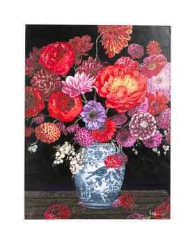 Картина маслом Flower Explosion120x90