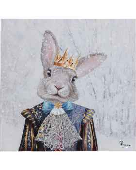 Картина маслом King of Rabbit 50x50