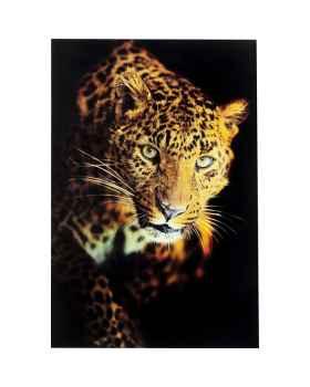 Картина на стекле Leopard Shaka 120x80