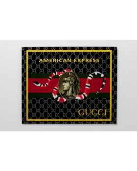 Картина на стекле VIP Credit Card 80x60