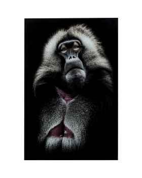 Картина на стекле Grandfather Baboon 120x80