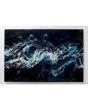 Картина на стекле Blue Portal 150x100