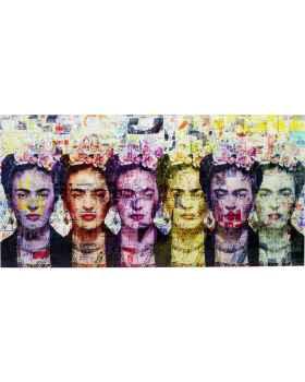 Картина на стекле Frida Love 160x80