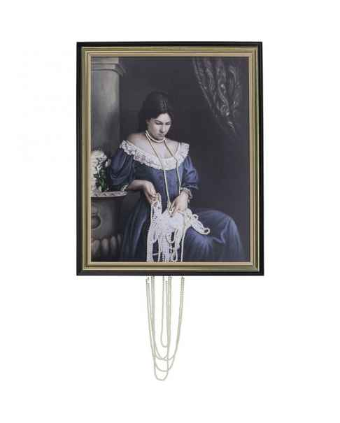 Картина маслом Lady Pearls 100x80