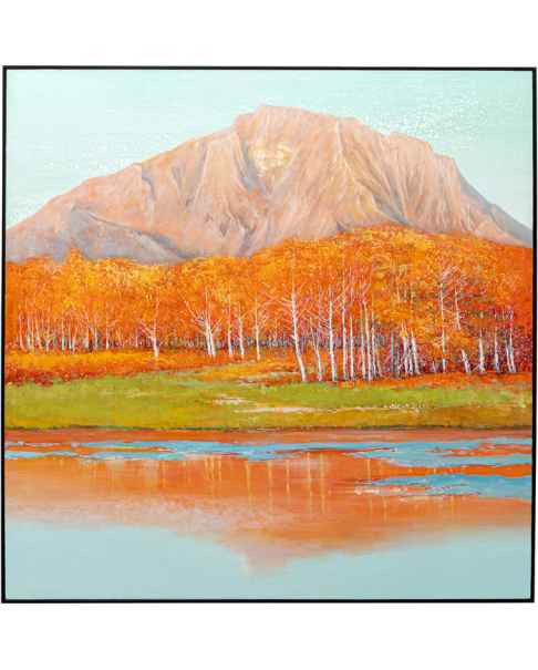 Картина в раме Autumnal 120x120cm