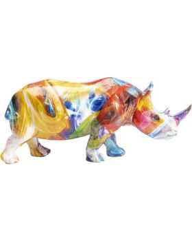 Статуэтка Colored Rhino