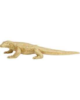 Деко фигура Komodo Dragon Gold 167cm