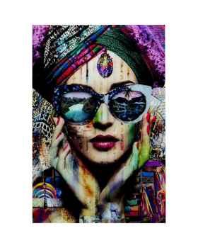 Картина на стекле Colorful Artist 80x120