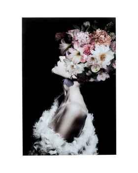Картина на стекле Flowery Beauty 80x120