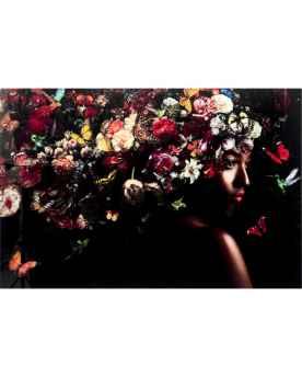 Картина на стекле Flowery Shoulder View 150x100