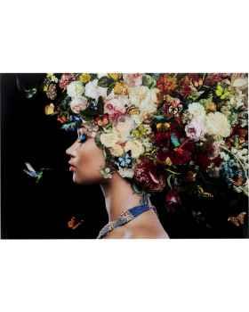 Картина на стекле Bunch of Flowers 150x100