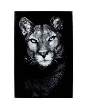 Картина на стекле Cat Girl 80x120