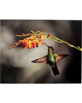 Картина на стекле Cute Colibri 90x70