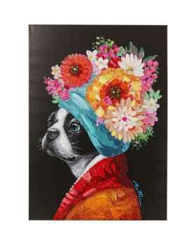 Картина Flowery Dog 70x100cm