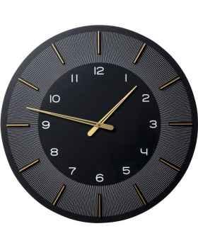 Настенные часы Lio Black Ø60