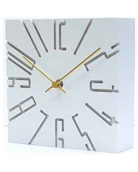Настольные часы Cubito White